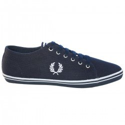 Zapatilla Kingston Pique Navy de Fred Perry Shoes