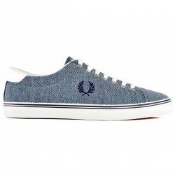 Zapatilla Underspin Oxford Pique Navy de Fred Perry Shoes