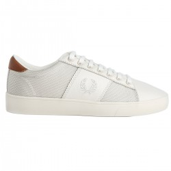 Zapatilla Spencer Mesh Leather Porcelain de Fred Perry Shoes