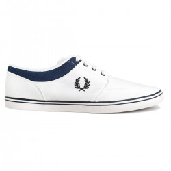 Zapatillas Stratford Canvas Blanco de Fred Perry Shoes