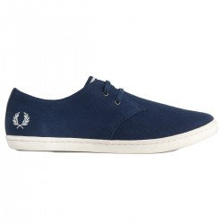 Zapato Byron Low De Sarga Marino de Fred Perry Shoes