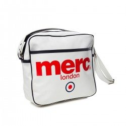Bolso Airline Blanco Print de Merc London