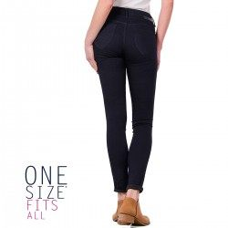 Jeans One Size Double Up2 Skinny Azul de Tiffosi