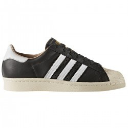 Zapatillas Superstar Forro Nude Negra de Adidas Original