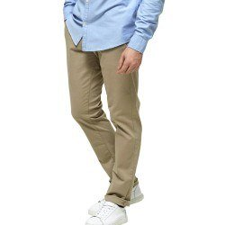 Marl Pantalon Chino Sand Slim L/32 de Selected