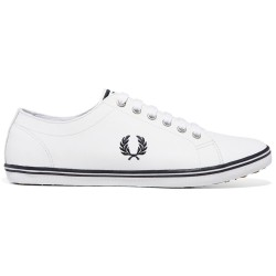 Kingston Cuero White/navy de Fred Perry Shoes