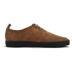 Shields Suede Crepe Camel de Fred Perry Shoes