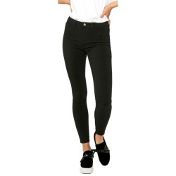 Ankle Jeggings Negro Tiro Alto de Pieces