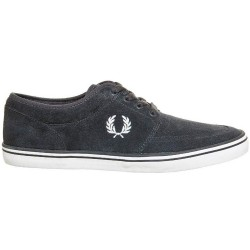 Stratford Suede Gris de Fred Perry Shoes