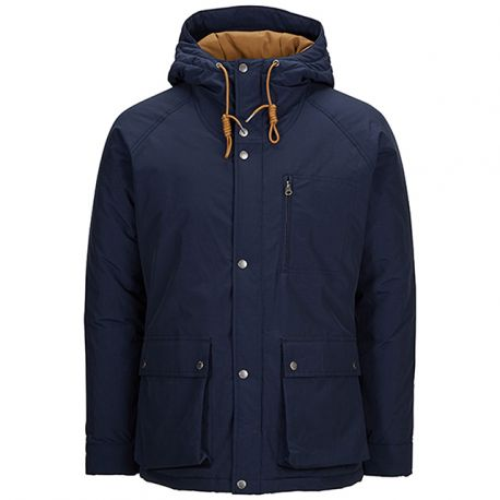 Parka Marino Capucha de Selected