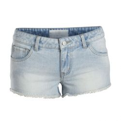 Shorts Jeans Claro Used de Pieces