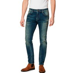 Leon 6105 Jeans Slim Fit Mid Blue L-32 de Selected