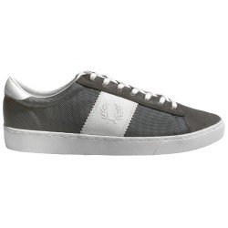 Zapatillas Spencer Gris Ante-textil de Fred Perry Shoes