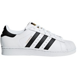 Superstar W Blanca - Negra Authentic de Adidas Original