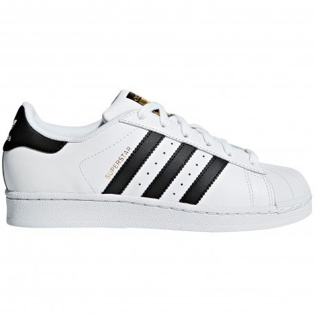Superstar Blanca - Negra Authentic de Adidas Original