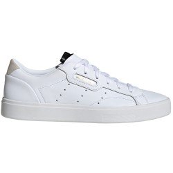 Sleek White Tenis Femenino Retro de Adidas Original
