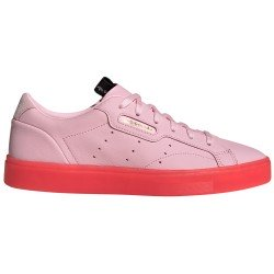 Sleek Pink Tenis Femenino Retro de Adidas Original