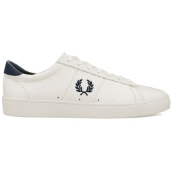 Spencer Leather White-hueso de Fred Perry Shoes