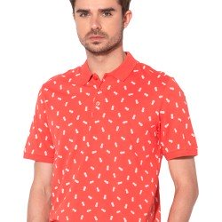Polo Coral Estampado Manga Corta de ONLY - SONS