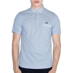 Polo Azul Vivos Oxford de Fred Perry Clothes