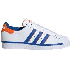 Superstar White - Blue - Orange de adidas originals