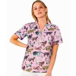 Lilac Cat Top de Minueto