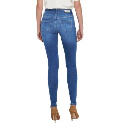 Blush Life Mid Jeans Skinny Fit L-32 de Only
