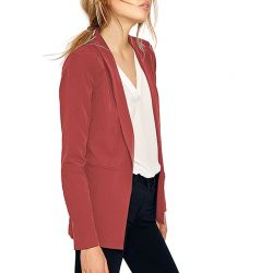 Chaqueta Roja Smoking de Vila Clothes