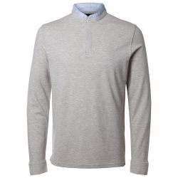 Camiseta Ls Polo Gris Antonio Banderas de Selected