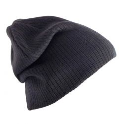 Gorro Lana Negro Basic de Pieces