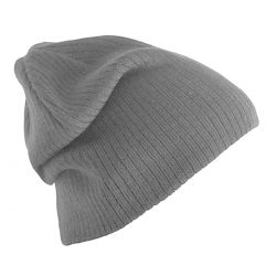 Gorro Lana Gris Basic de Pieces