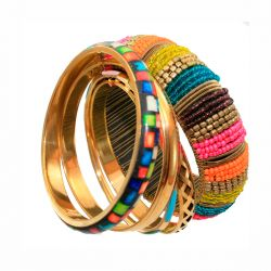 Pie Pulsera Africa Multicolor 163 de Pieces