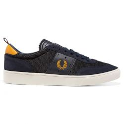 Zapatillas Umpire Bradley Wiggins Navy de Fred Perry Shoes