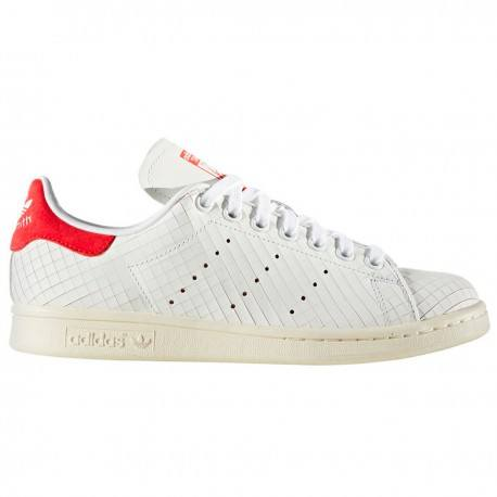 Zapatilla Stan Smith Blanco/rojo Unisex de Adidas Original