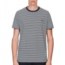 Camiseta Rayas Marino de Fred Perry Clothes