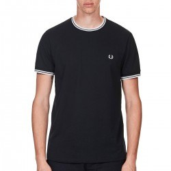 Camiseta Marino Lisa Vivos Blancos de Fred Perry Clothes