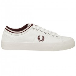 Zapatilla Kendrick Canvas Light Ecru de Fred Perry Shoes